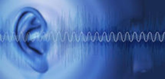 Sound and ear image (Shutterstock)