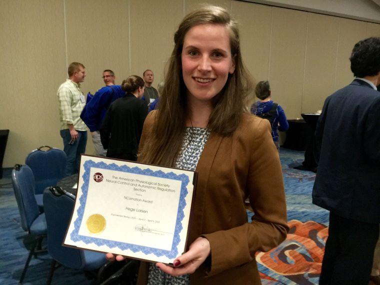 Dpags hege larsen wins prestigious ncarnation award