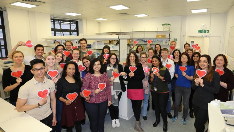 Love notes go a long way for dpag research group