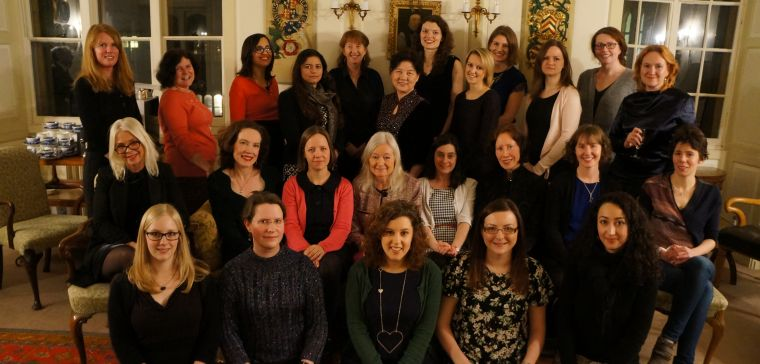 DPAG Women's dinner, Merton College, February 2015