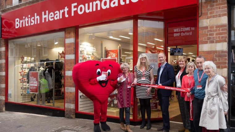 Charity shop2019s help with heart research