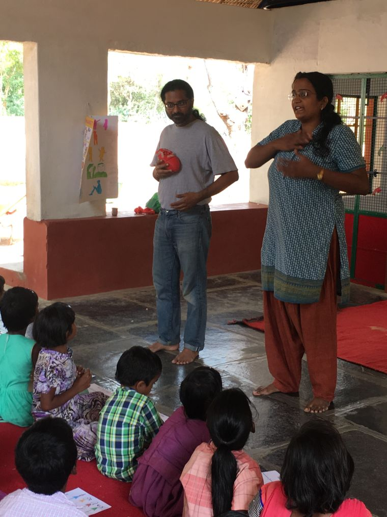 outreach in India