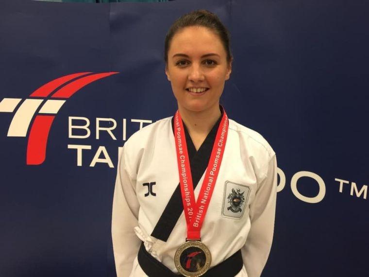 Katie taekwondo