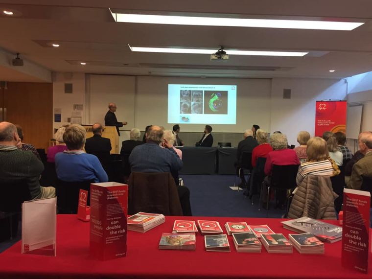 Paul riley bhf event
