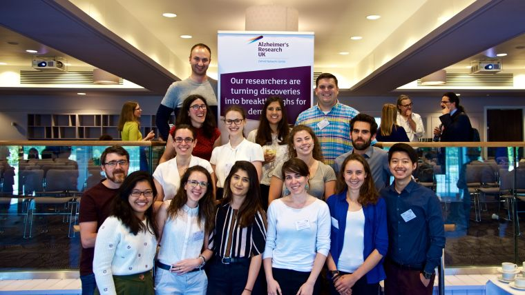 Dpag researchers shine at the aruk oxford network dementia research day 2019