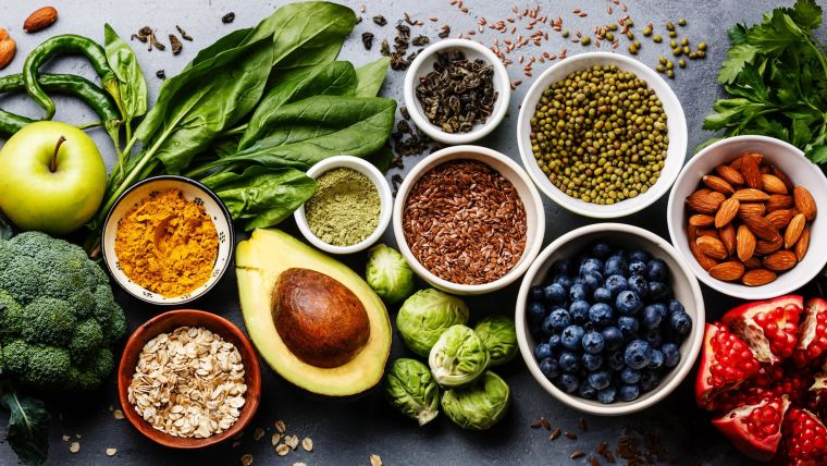 Eating more fruits vegetables nuts and wholegrains is a win win for health and the environment