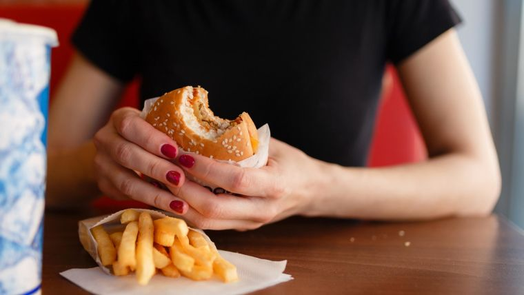 Effect of adding calorie content to fast food menus