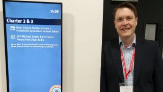 Rdm researchers shine at the british cardiovascular society 2019 conference