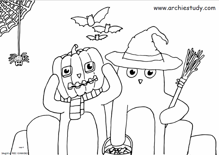 Archie at Halloween
