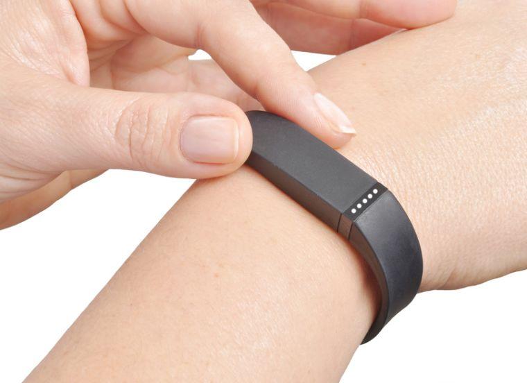 Wrist-worn fitness monitor