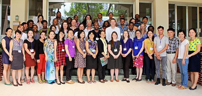 Building ethics capacity and conducting research on ethical issues in global health research with partners in Africa and South East Asia