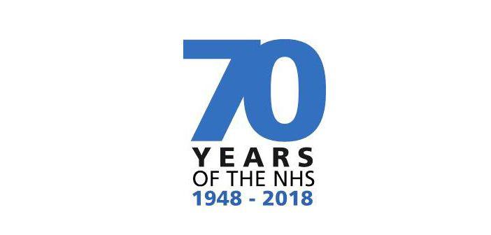 NHS 70th birthday logo