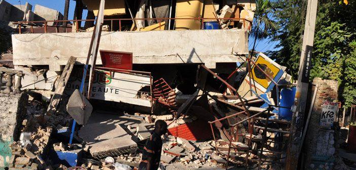 Earthquake damage