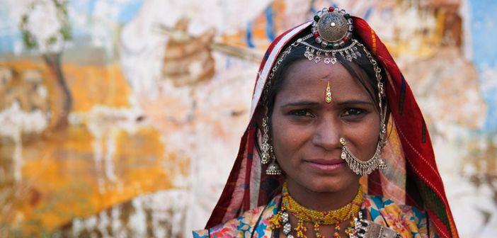 Rajasthani woman