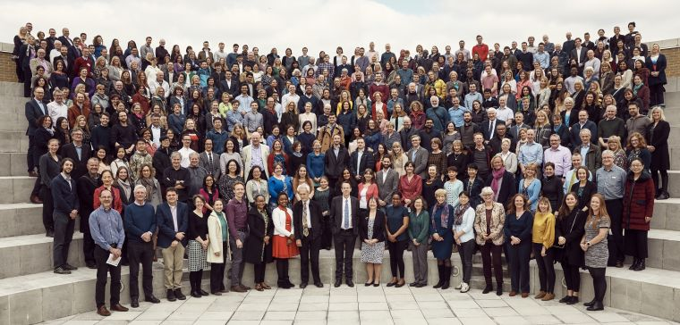Photo of NPDH staff in 2019