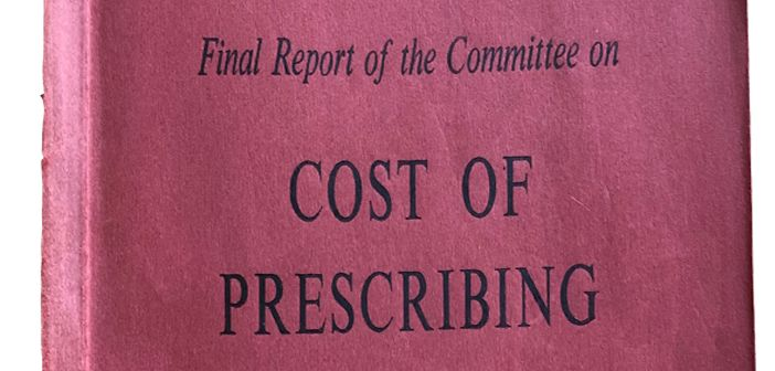 Cover of Hinchcliffe report: 'Cost of Prescribing'