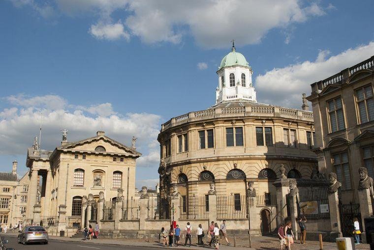 The Sheldonian Theatre, Oxford