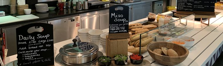 Photo of food counter in Tulip Tree cafe