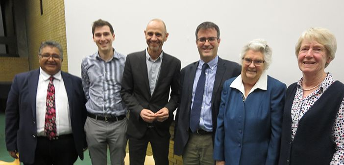 A symposium to discuss topics around talking about dying was recently held at St Catherine's College