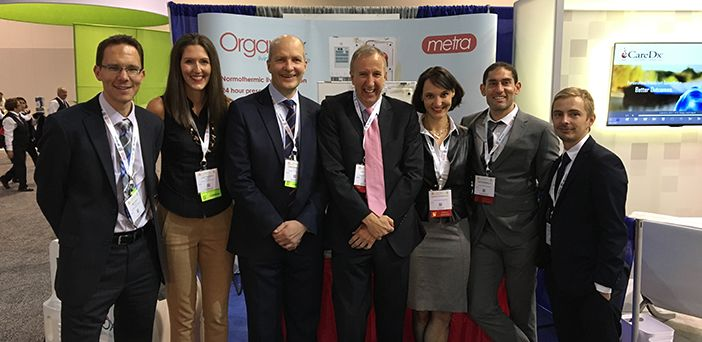 Dr annemarie weissenbacher with organox colleagues 1