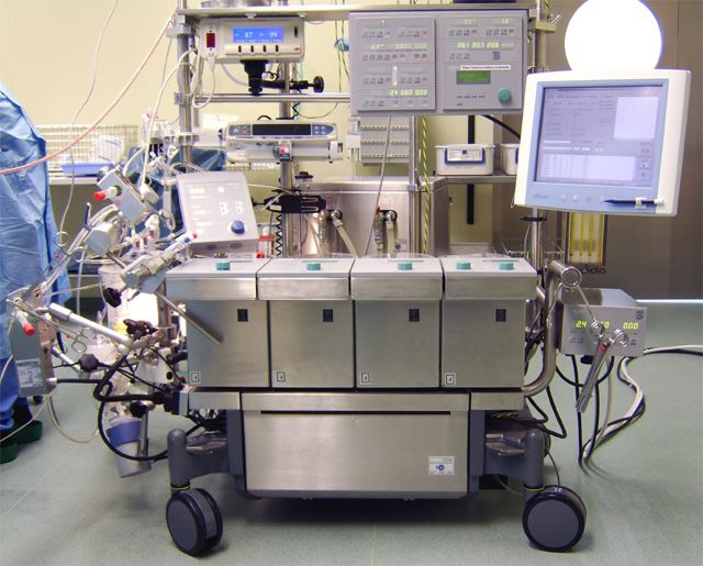A heart lung machine