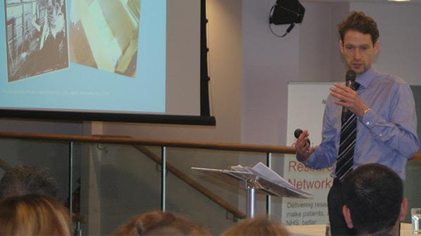 Human factors researcher presents at trauma research conference