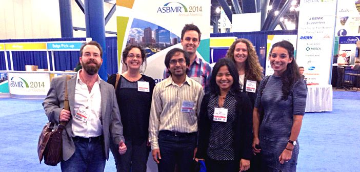 The Edwards Labs at ASBMR 2014