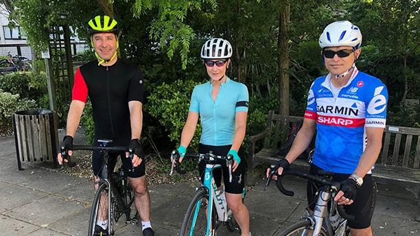 Katherine hurst gears up for first ever rcsed cycling symposium