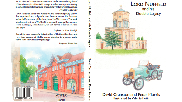 Surgery professors publish new book on lord nuffield
