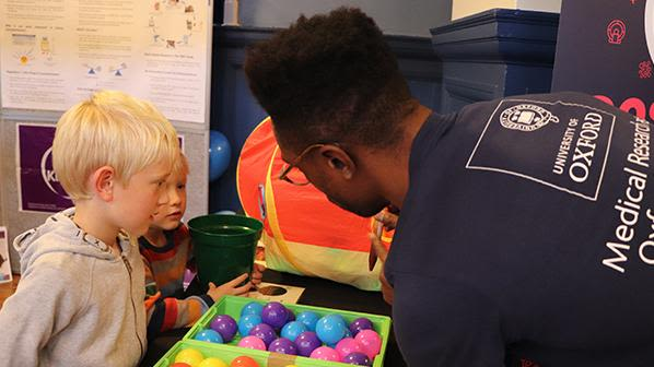Over two fun packed science weekends, NDS staff and students talked about and demonstrated some of the department's exciting and cutting edge research to audiences of all ages at IF Oxford.