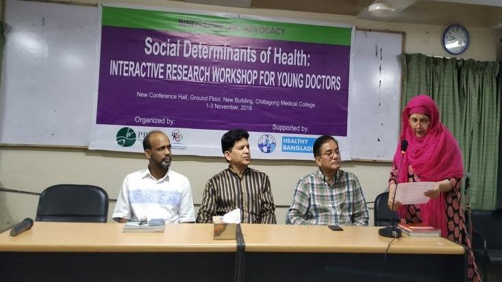 Interactive research workshop for young doctors in bangladesh