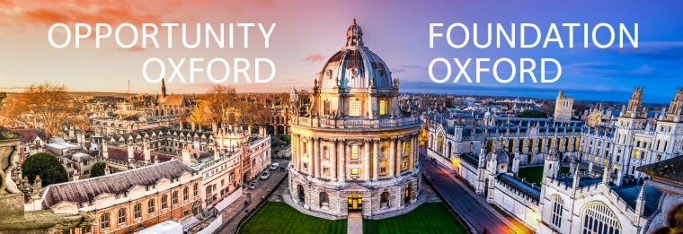 Opportunity oxford and foundation oxford