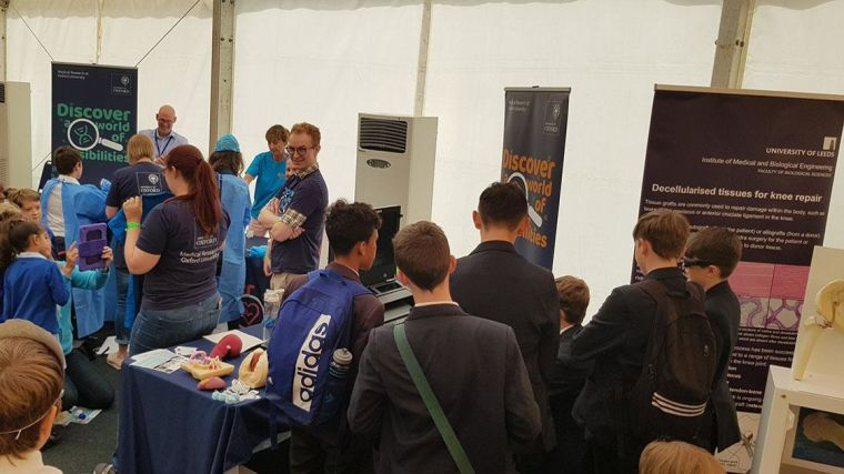 A team from NDS spent a fantastic day sharing and learning with some energetic scientists and surgeons of the future at the Cheltenham Science Festival.