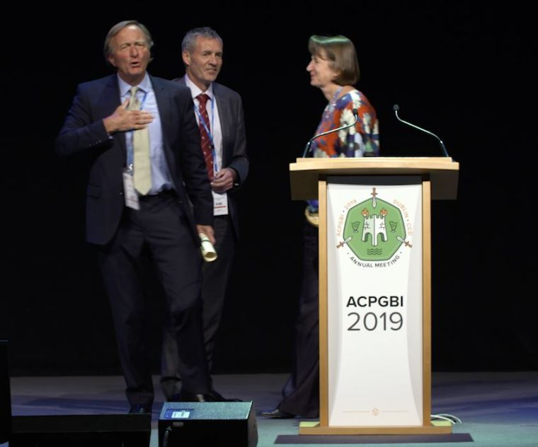 Professor mortensen received the honour at the acpgbi annual meeting in dublin in july credit acpgbi