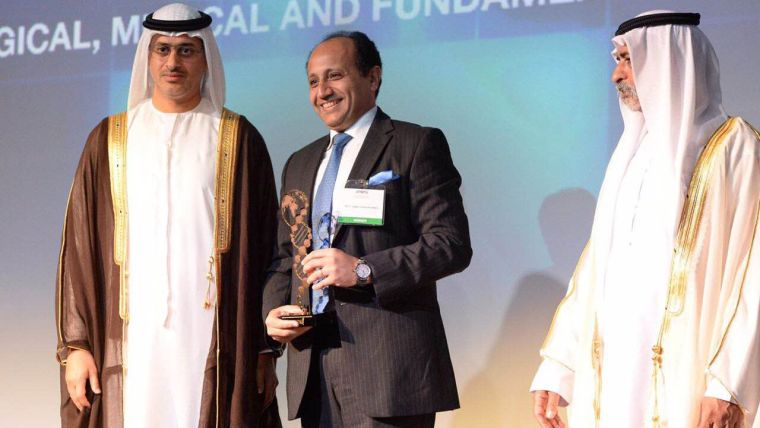 Professor receives award for potential marker for early diagnosis of ovarian cancer