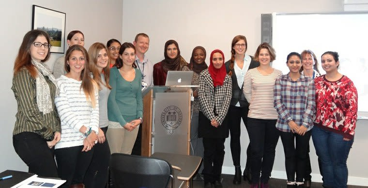 MSc in Clinical Embryology Students, 2015.