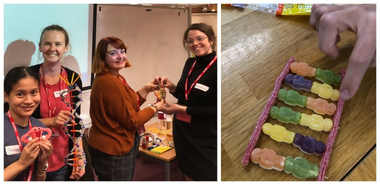 "DPhil students from our Endometriosis research group, delivered a thought provoking and popular workshop to year 7 and 8 students at the Cheney School in Oxford, as part of a ""Future of Genetics"" Day. The aim was to inspire the next generation of scientists on how research utilises ""future technology"" single-cell RNA-sequencing for studying endometriosis."