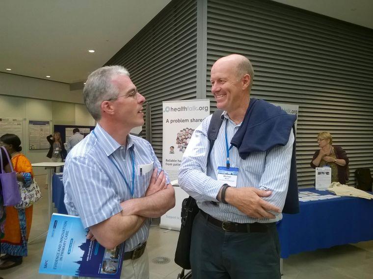 Professors Alastair Hay and Mike Moore