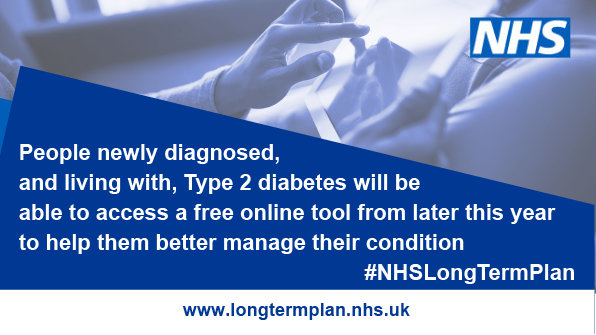 New nhs online support for type 2 diabetes