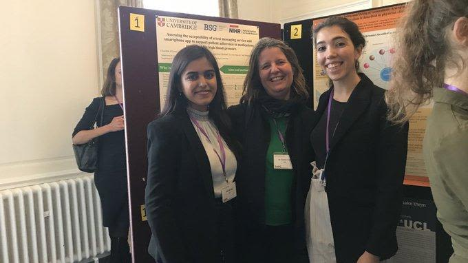 Ucl interns win poster prizes