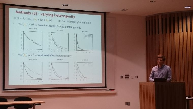 Estimating pooled survival benefit using individual patient level data meta analyses