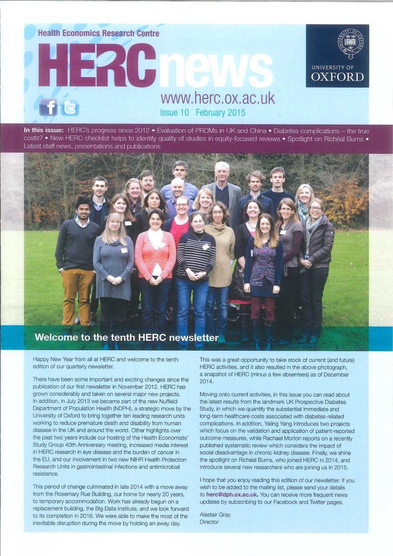 Herc Newsletter Issue 10