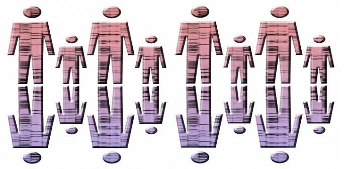 People with DNA fingerprints
