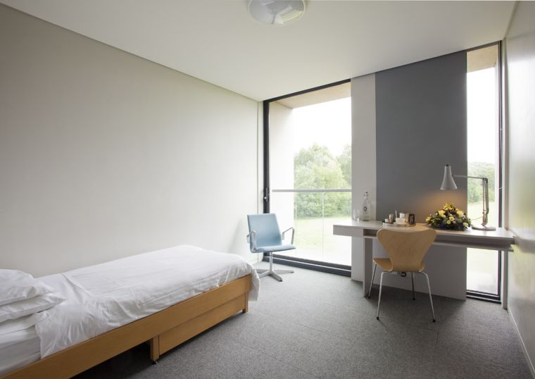 Bedroom accommodation at St. Catherine's