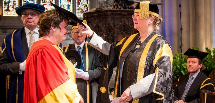 Honorary degree for professor fiona powrie