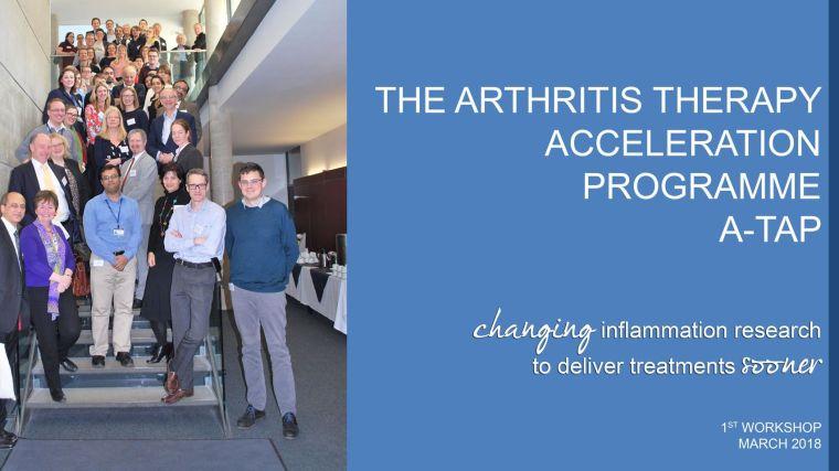 A workshop for curing arthritis sooner a tap