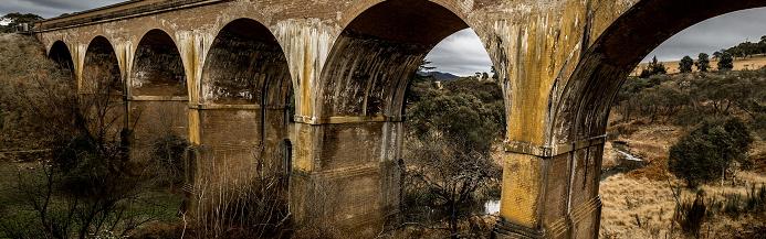An old stone bridge