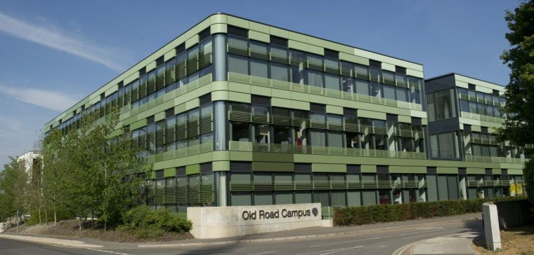 The old road campus healthcare research building at oxford university
