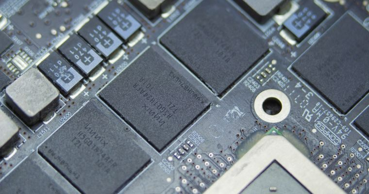 Computer memory chips