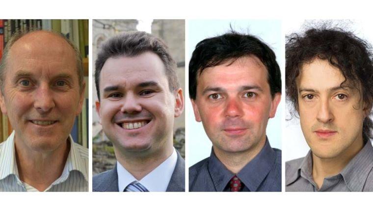Professors Alan Cocks, Constantin Coussios, Peter Ireland and Philip Torr